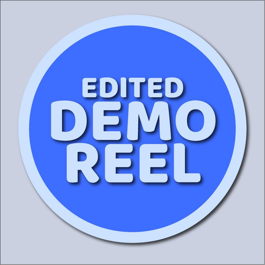 Edited Demo Reel logo