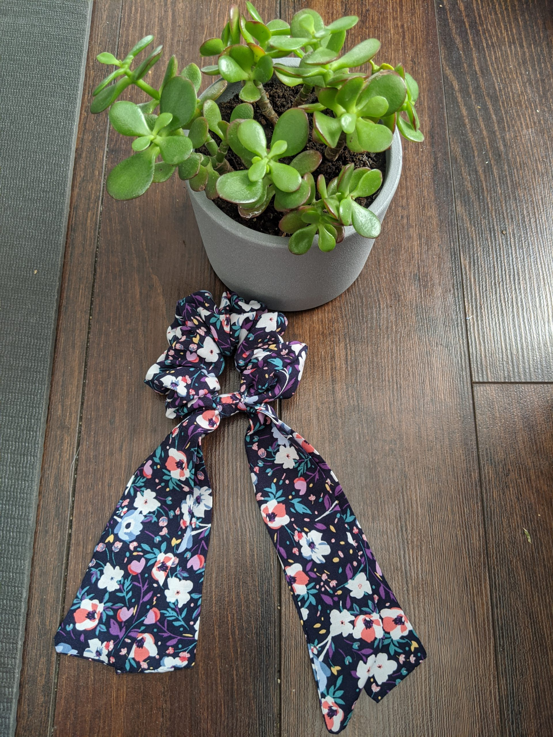 Floral with Tail