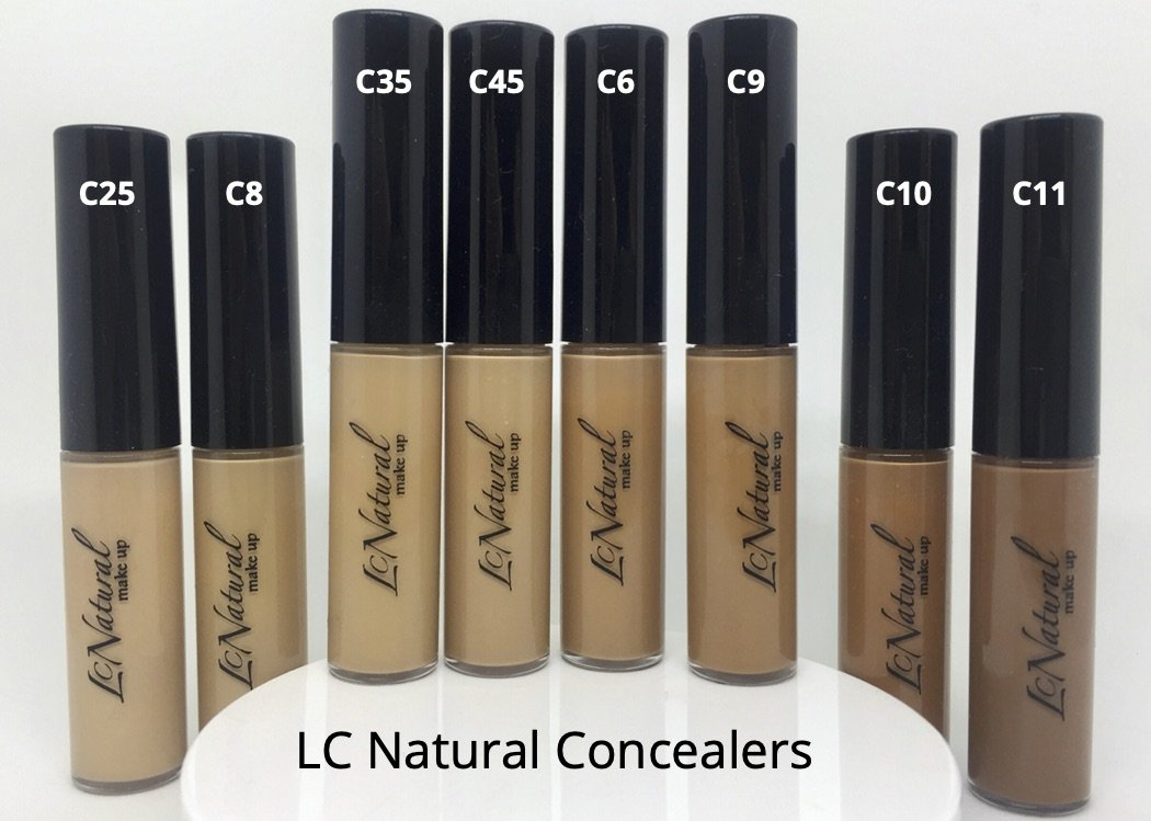 LC Natural Concealers