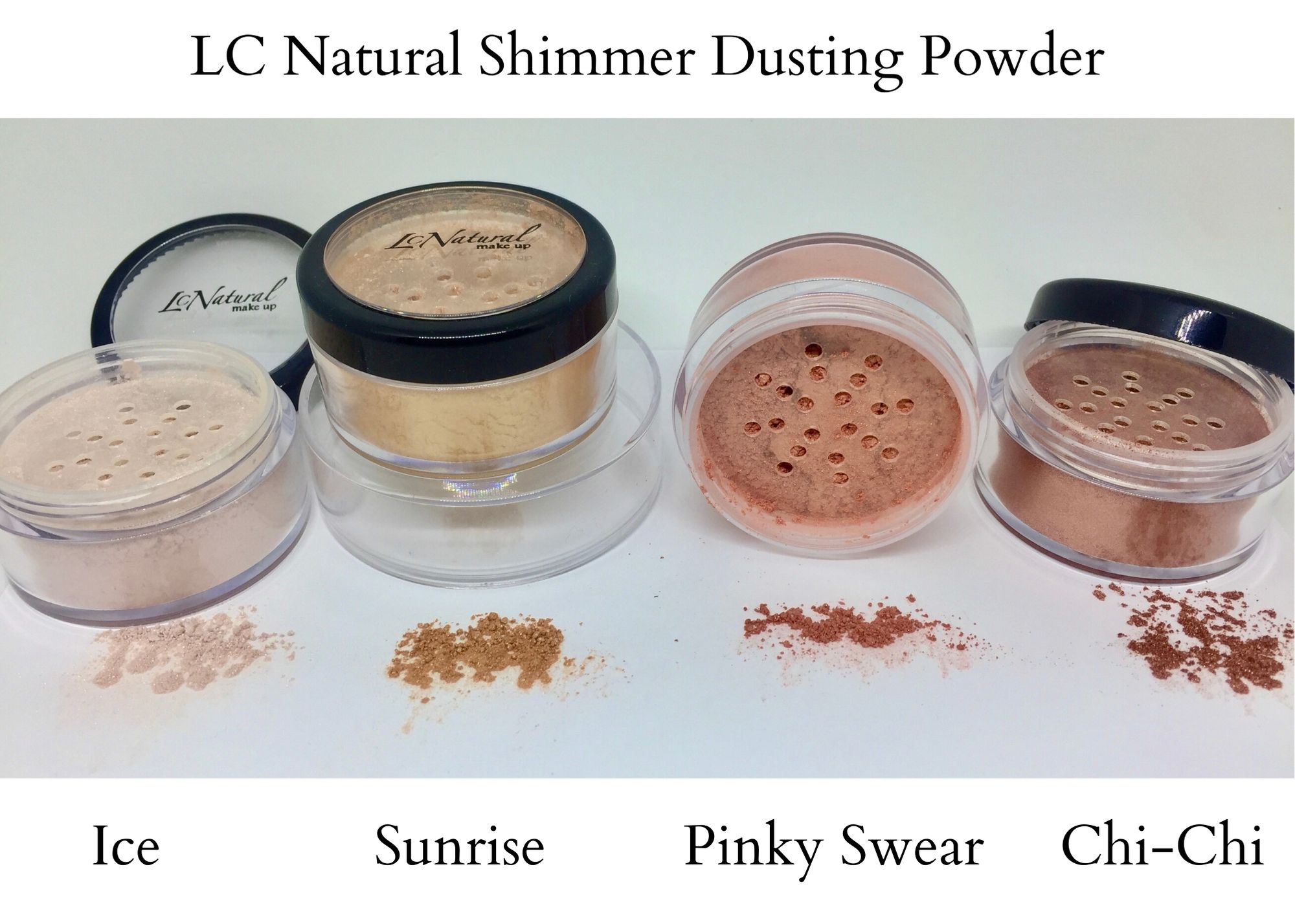 LC Natural Shimmer Dusting Powder