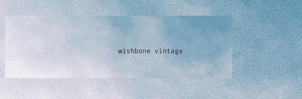 wishbone vintage