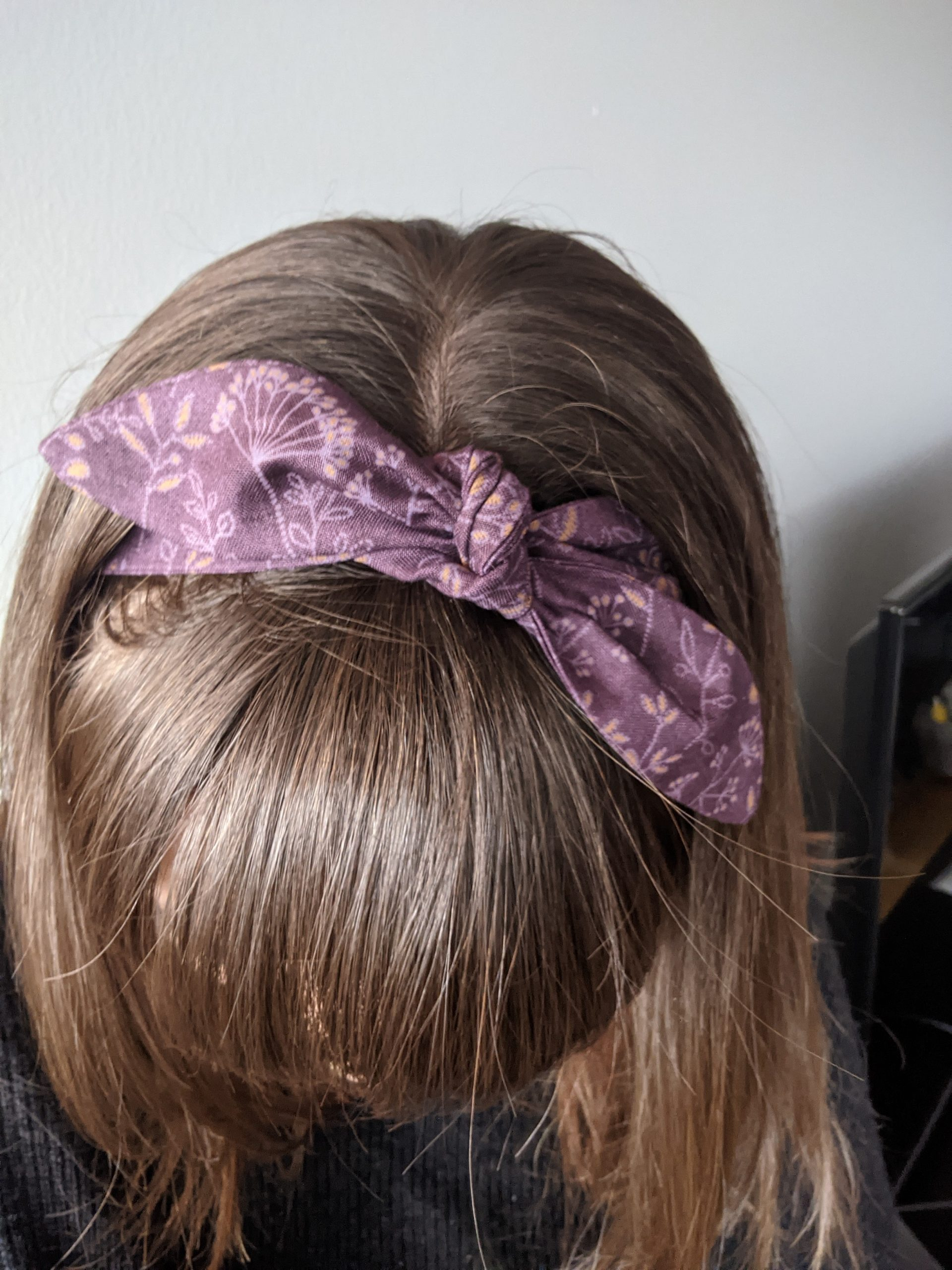 Frosted wildflowers headband 3