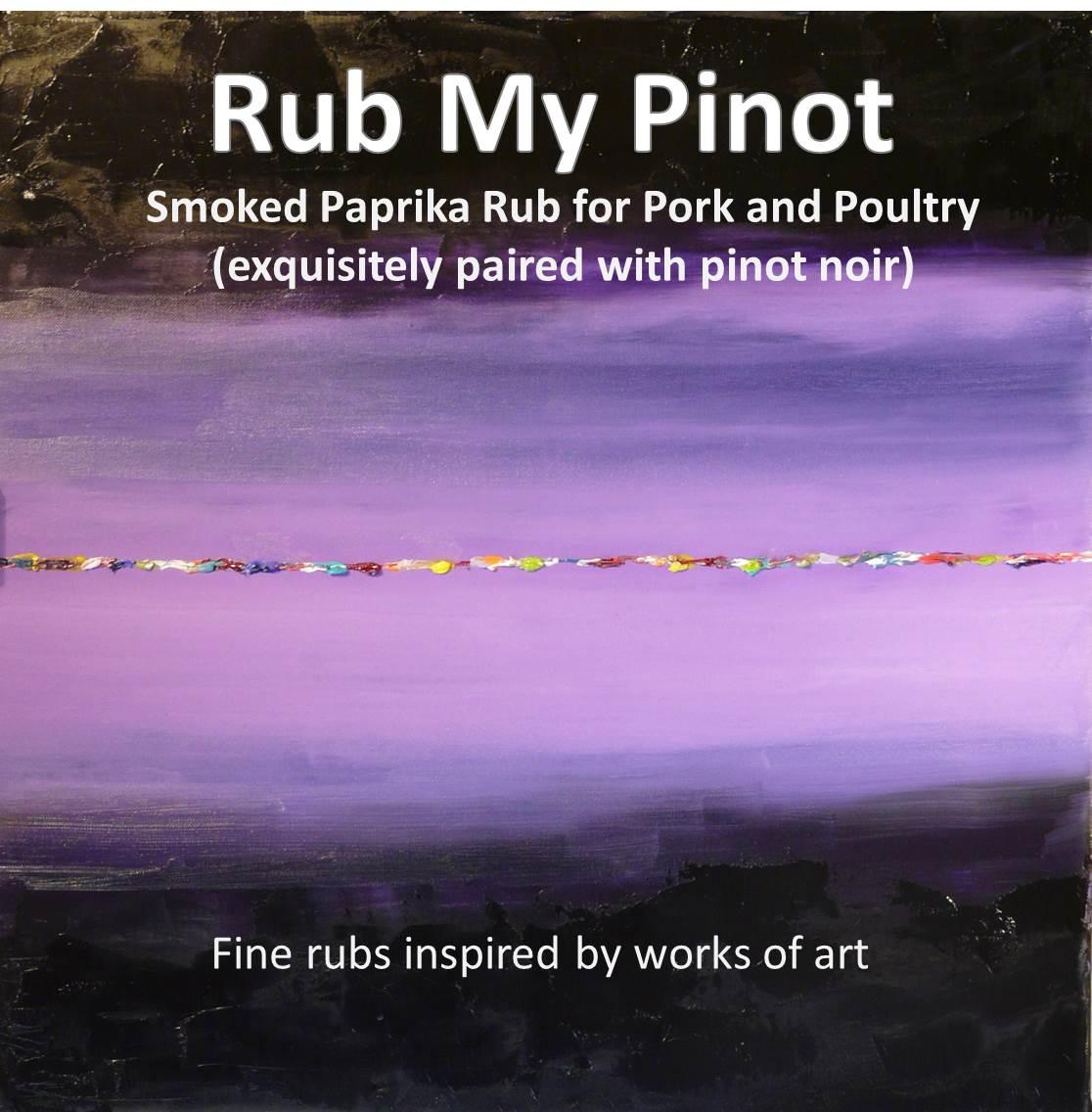Label – Rub My Pinot – mini