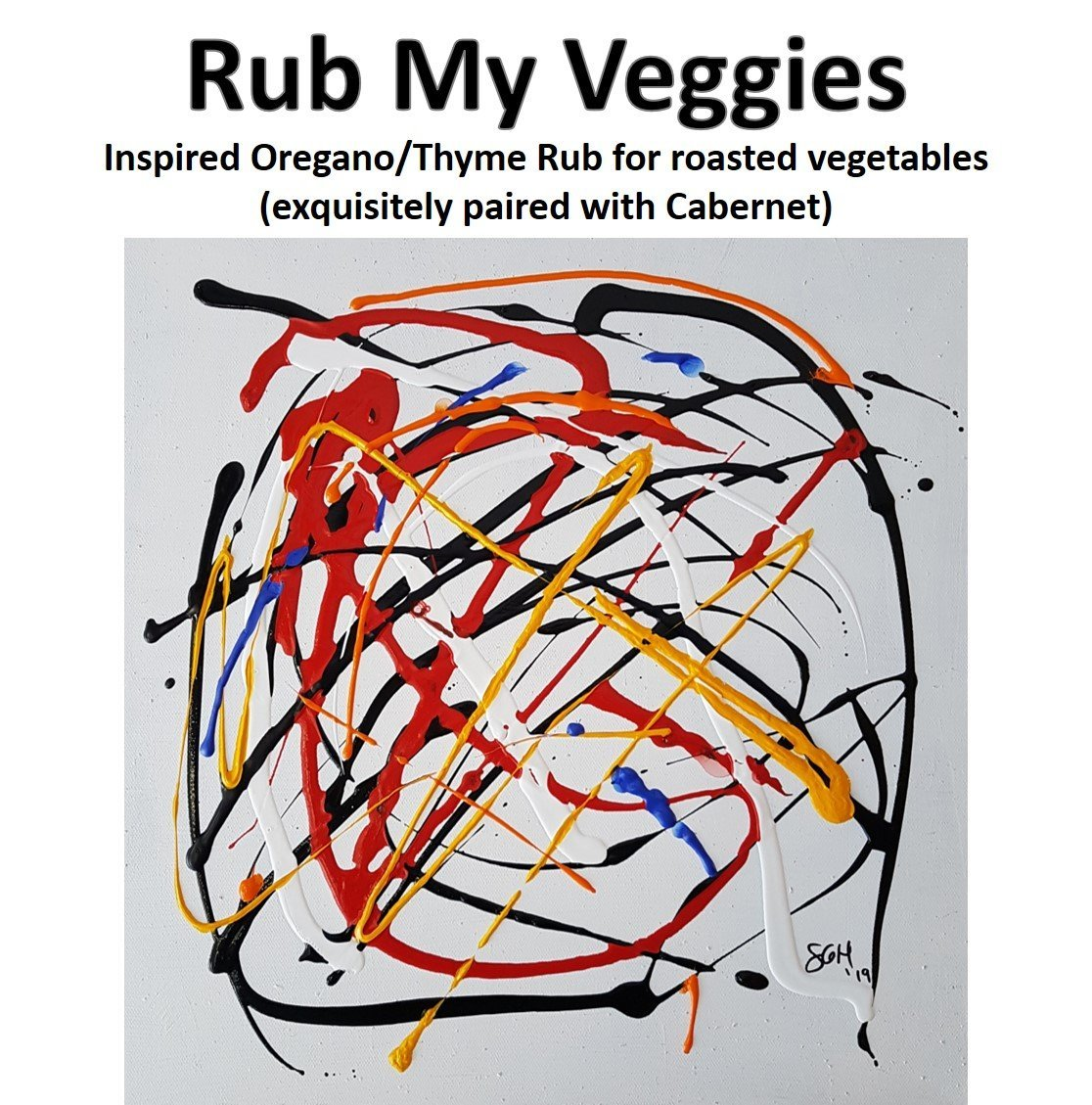 Label – Rub My Veggies – Mini