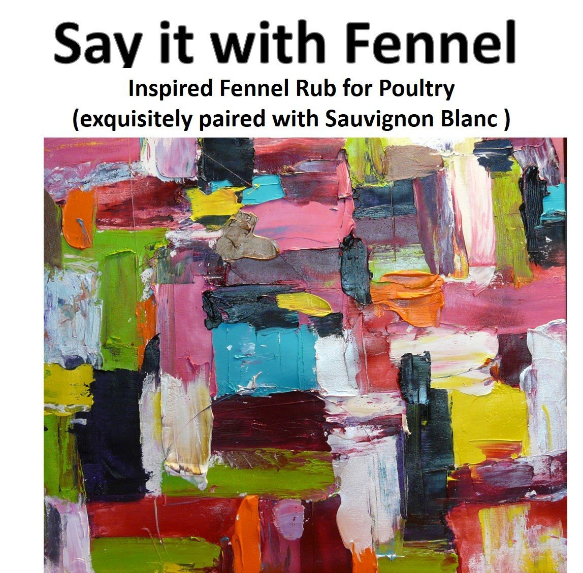 Label – Say it with Fennel – mini