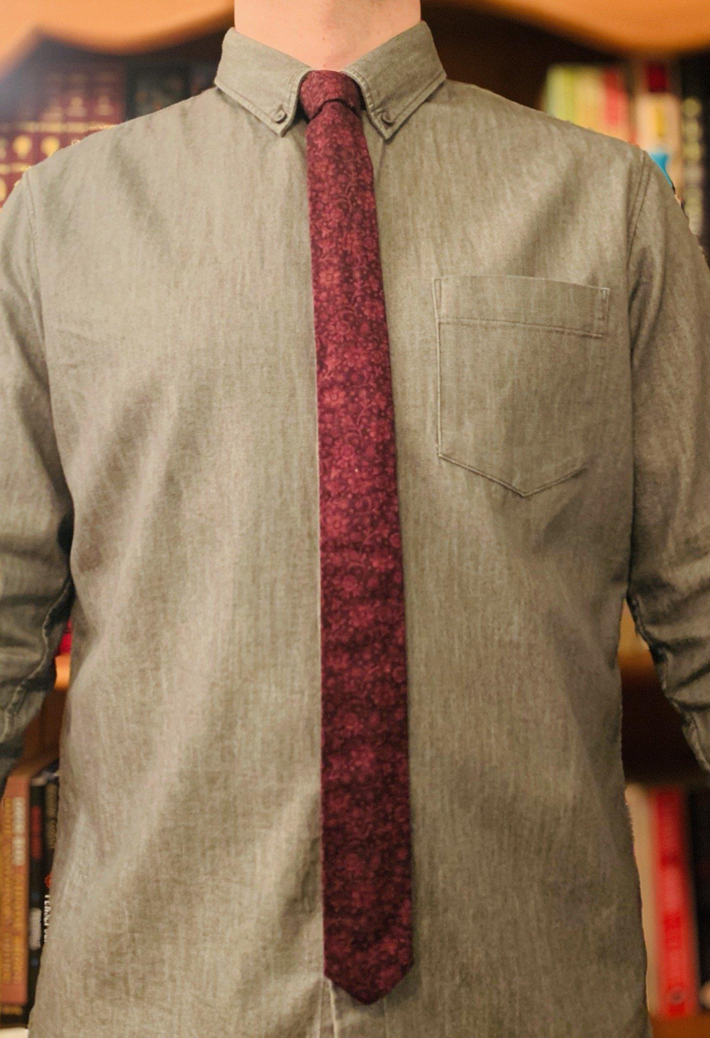 Full Purple Tie