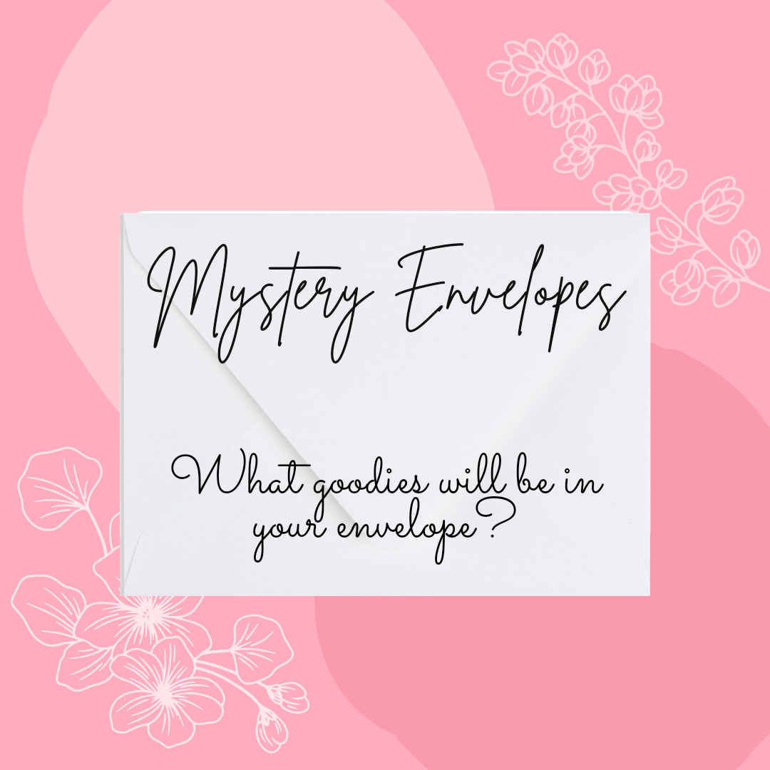 mystery envelope graphic
