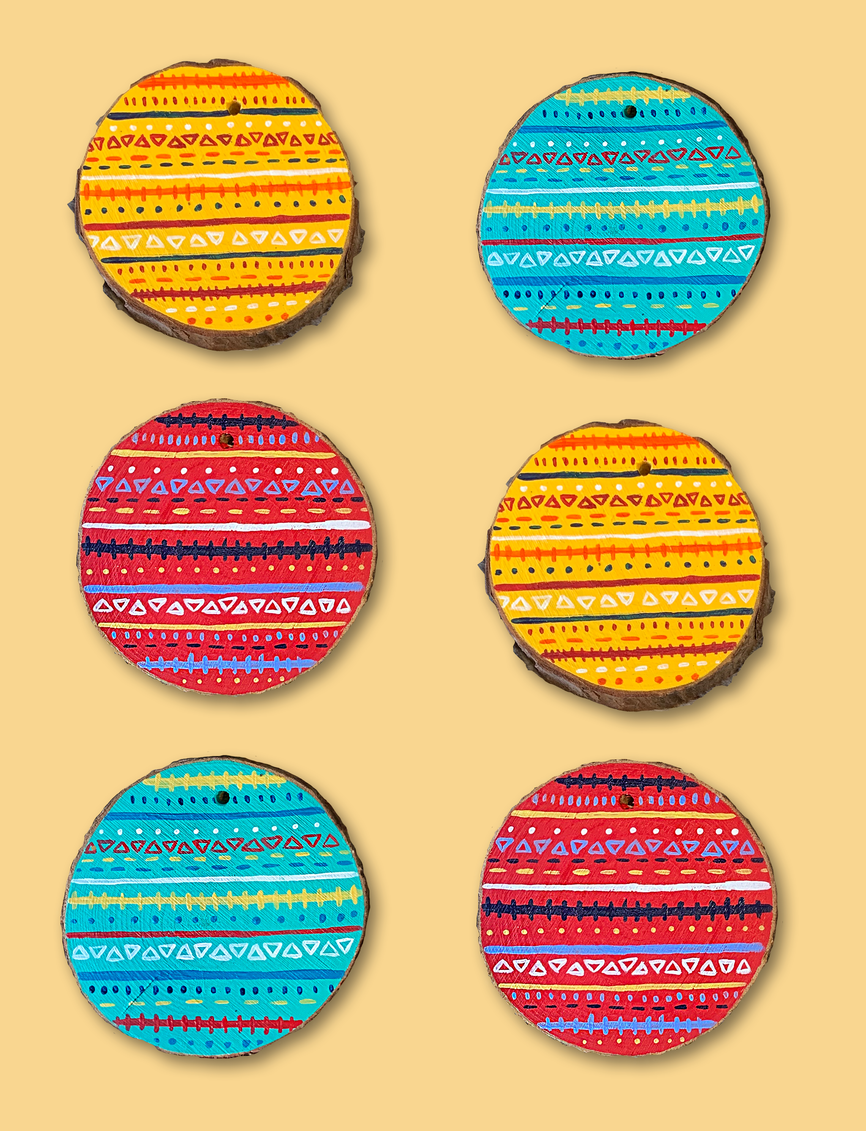 Patterned Coasters 2