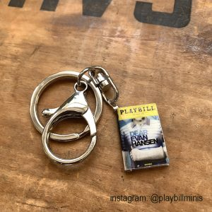 playbill mini jewelry jewellery keychain copy