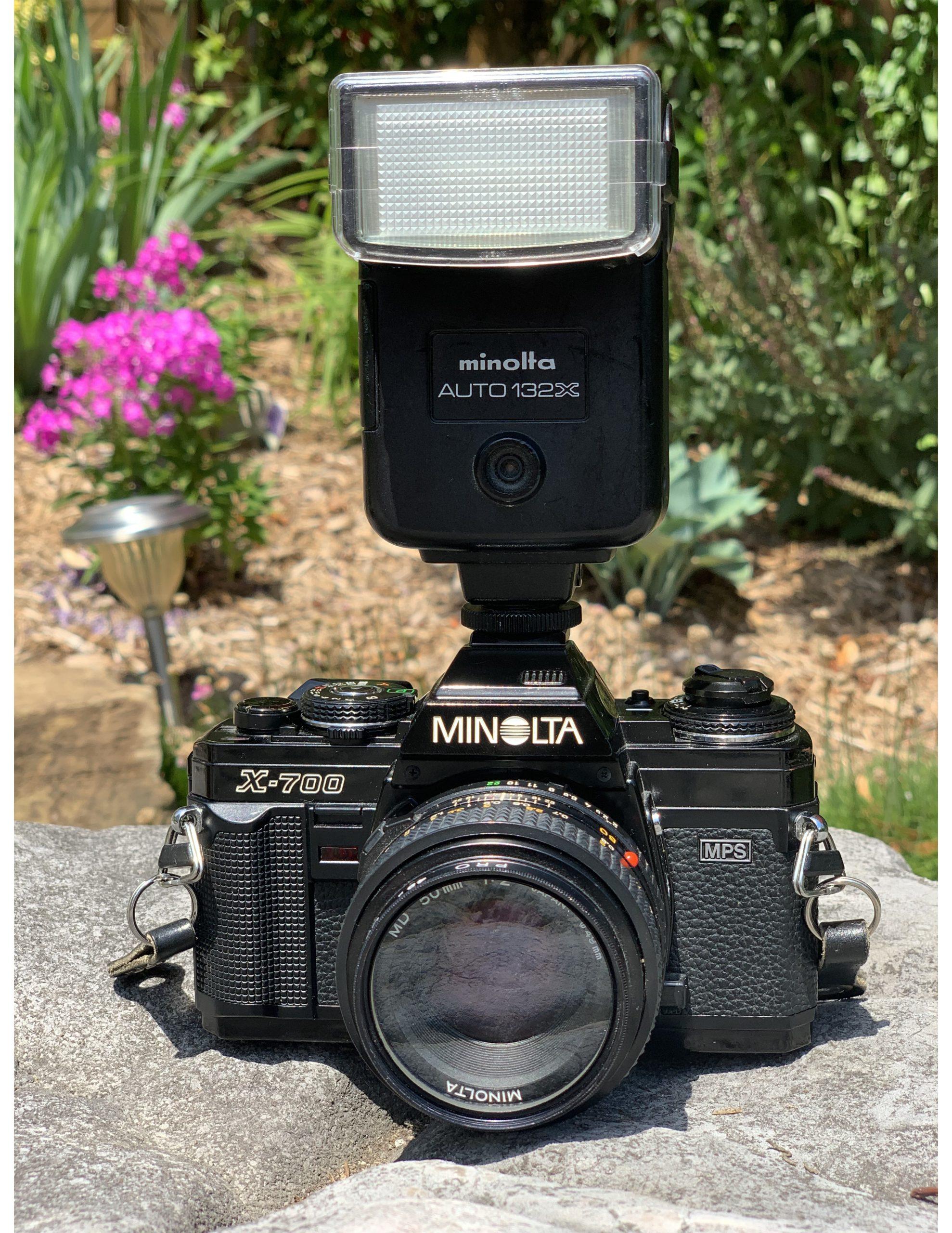 Minolta x700 Front
