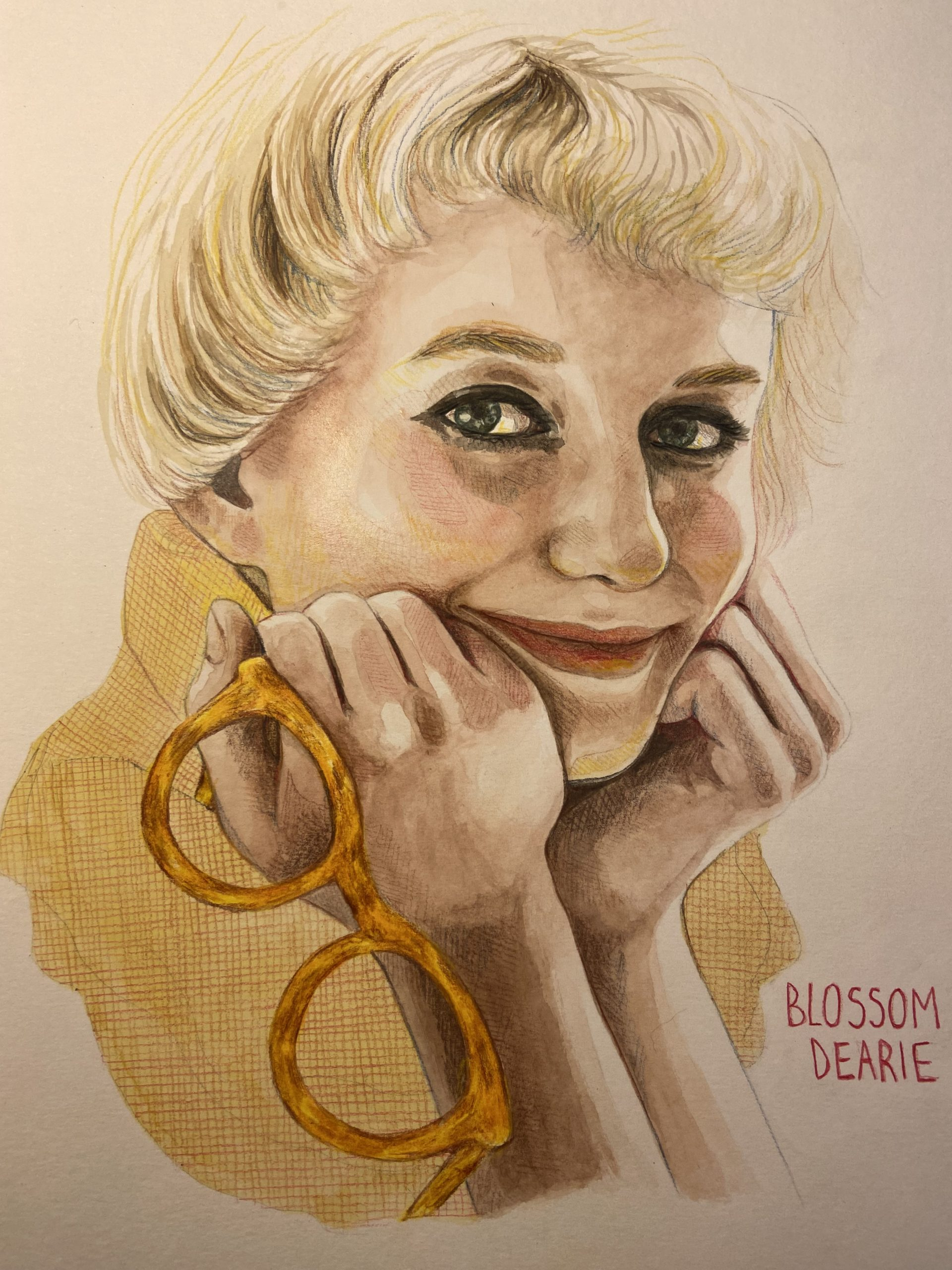 Blossom Dearie Painting